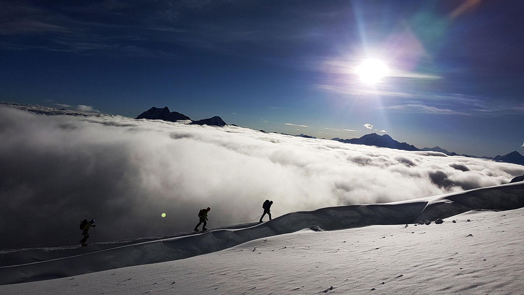 Expedition on Manaslu 8163m