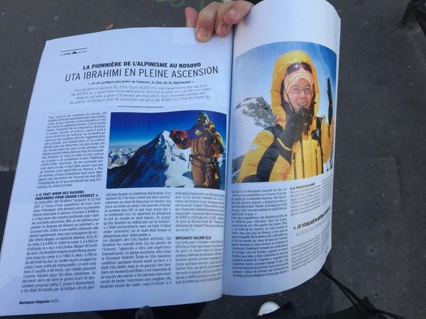 The pioneer of mountaineering in Kosovo – My interview on Montagnes Magazine