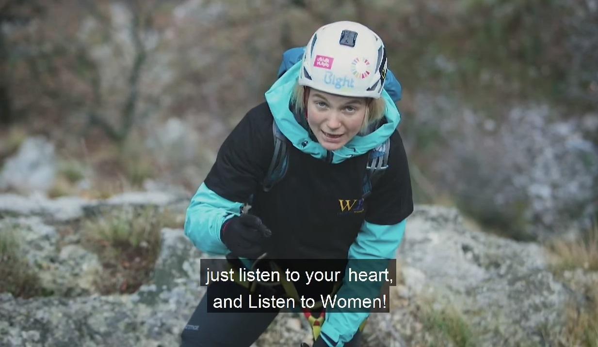 Uta Ibrahimi – RCC's Women Empowerment – WE campaign