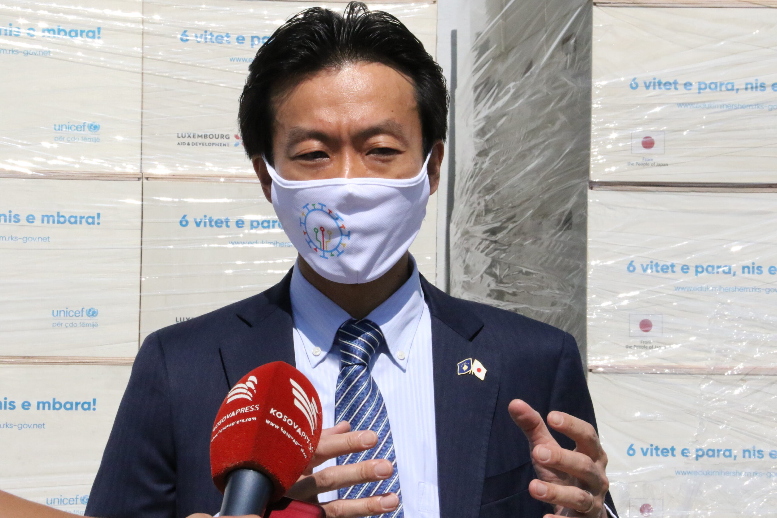 Charge d'Affaires the Embassy of Japan in Kosovo, Mr. Mitsunori Ogasawara